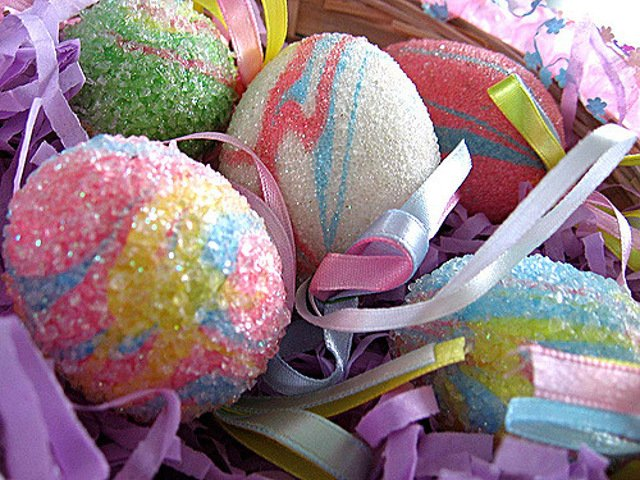Huevos de Pascua en Semana Santa en Nueva York