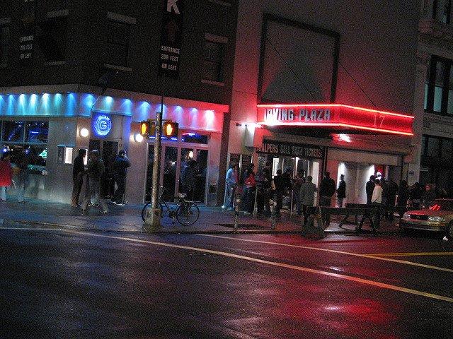 Irving Plaza es un teatro en el Barrio de Gramercy en Nueva York.