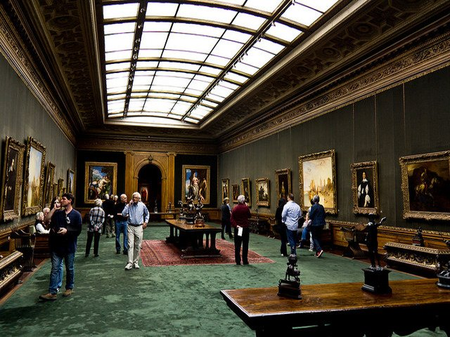 West Wing de The Frick Collection en Nueva York