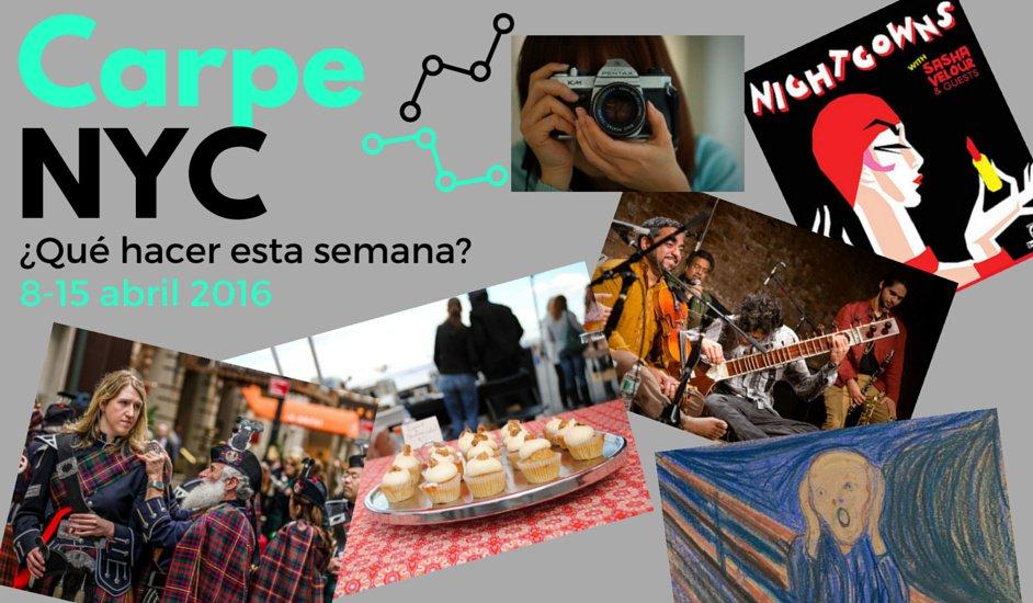 Carpe NYC 8-15 abril