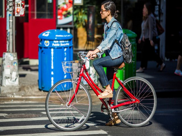 En Nueva York en Mayo es el mes perfecto para montar en bicicleta