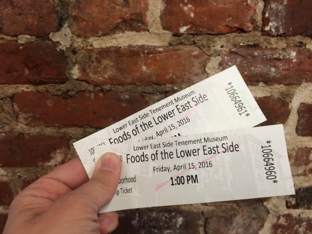 Entradas para el Tour del Tenement Museum en el Lower East Side