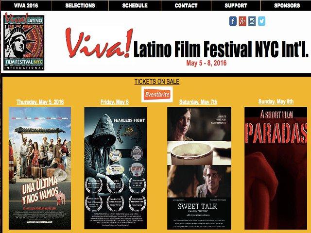 Esta semana en Nueva York es el Festival de cine Latino