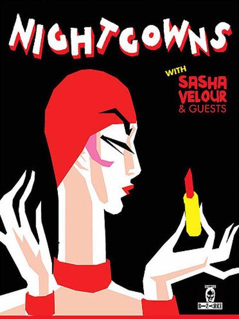 Esta semana en Nueva York puedes ver un espectáculo del Drag Queen Sasha Velour