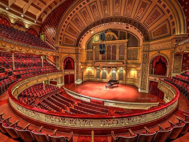 Esta semana en Nueva York se puede asisitir a un concierto en Carnegie Music Hall
