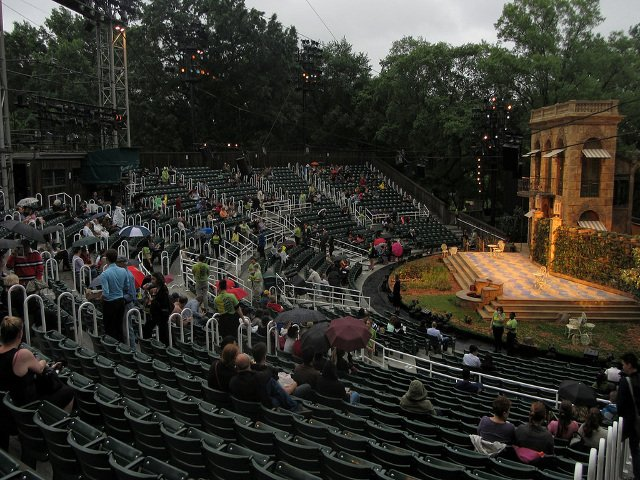 En junio en Nueva York Shakespeare in the Park