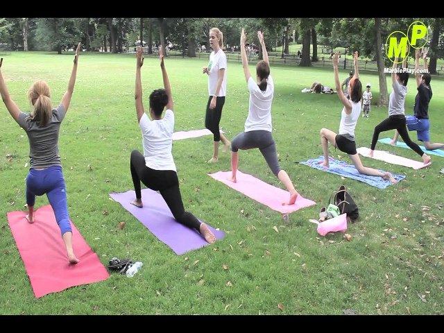En junio en Nueva York se puede practicar deporte en el parque