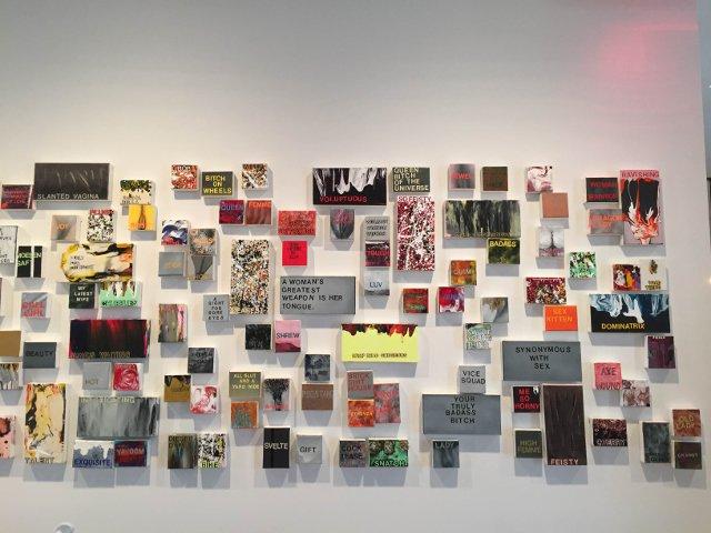 Esta semana en Nueva York se puede disfrutar de la artista feminista Betty Tompkins