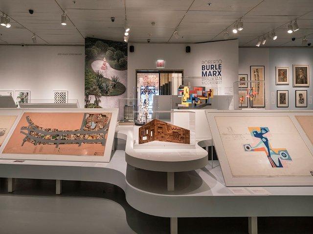 Esta semana en Nueva York el arte de Roberto Burle Marx