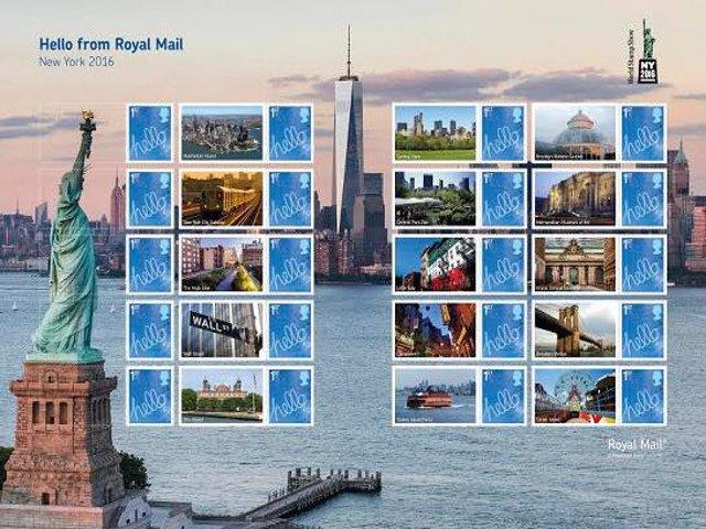 Esta semana en Nueva York la feria mundial de filatelia