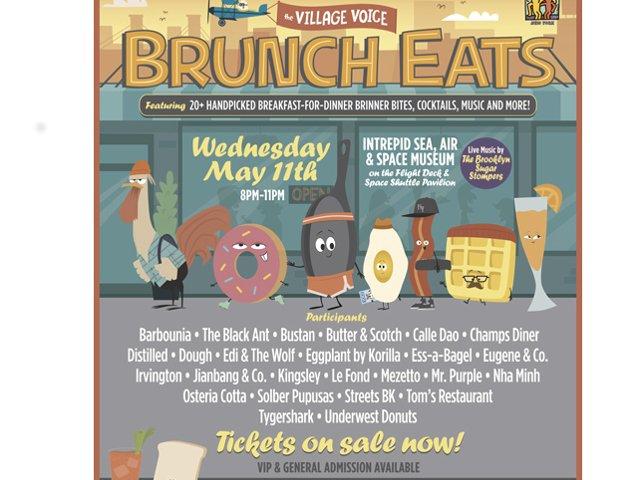 Esta semana en Nueva York el brunch se toma por la noche