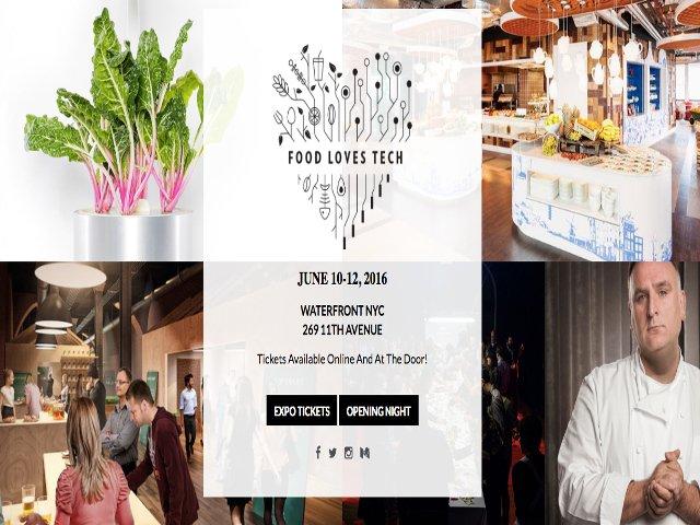 Esta semana en Nueva York la comida ama a la tecnologia
