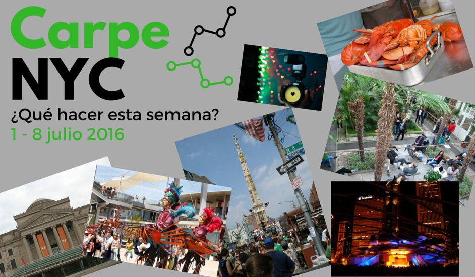 Carpe NYC 1-8 julio 2016