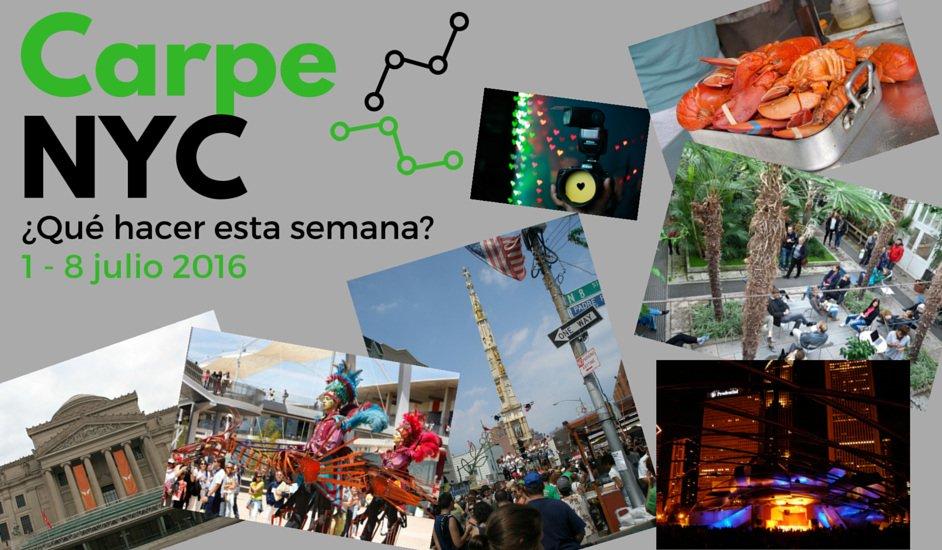Carpe NYC 1-8 julio 2016