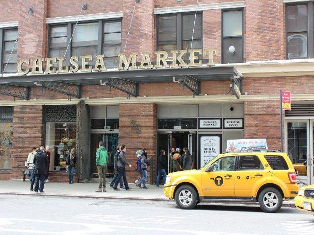 Entrada a Chelsea Market en Nueva York