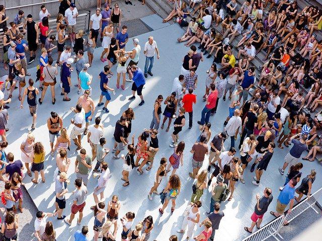 Escuchar música experimental en Nueva York en julio en MoMA PS1