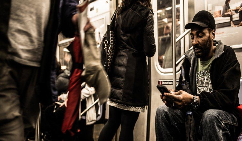 Usando aplicaciones móvil en Nueva York