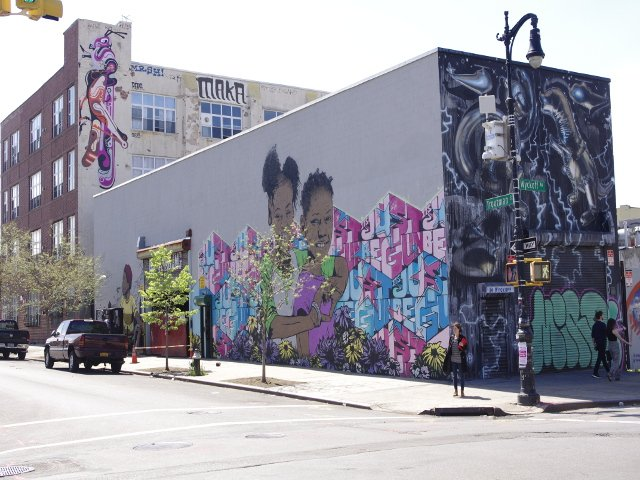 Arte Callejero Bushwick Collective en Brooklyn
