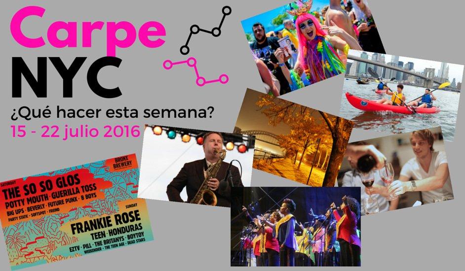 Carpe NYC 15-22 julio 2016