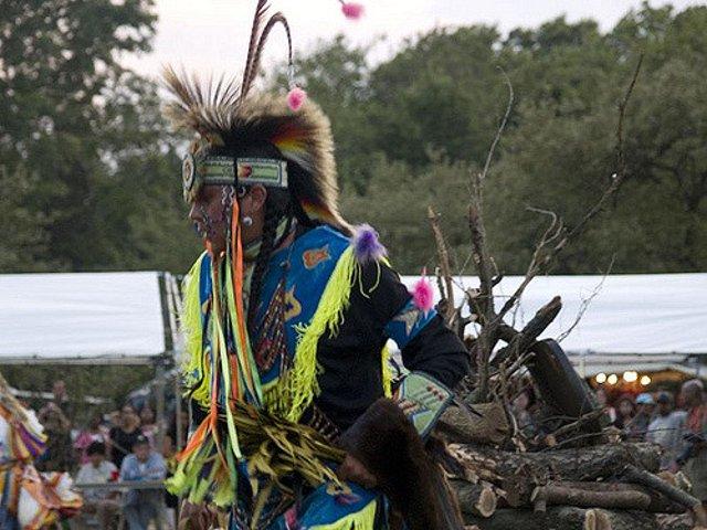 Esta semana en Nueva York un pow wow indio