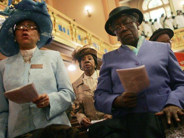 Los domingos en la iglesia en Harlem