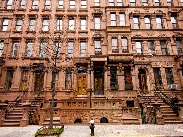 Las casas brownstone de Harlem