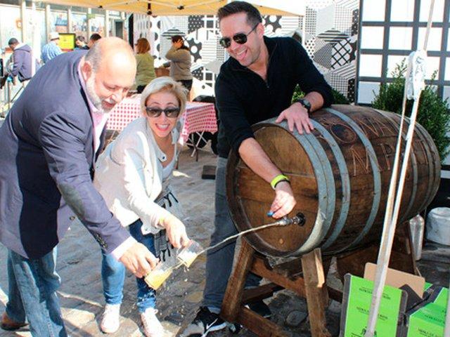 Esta semana en Nueva York CiderFeast, barbacoa con cata de sidra