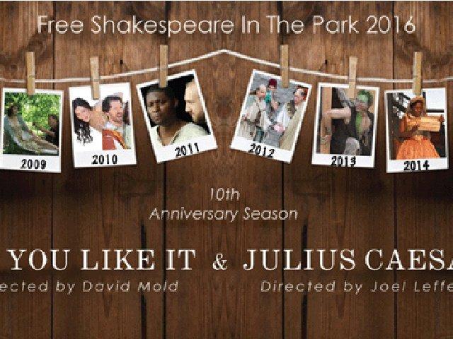 Esta semana en Nueva York Julio César en el parque