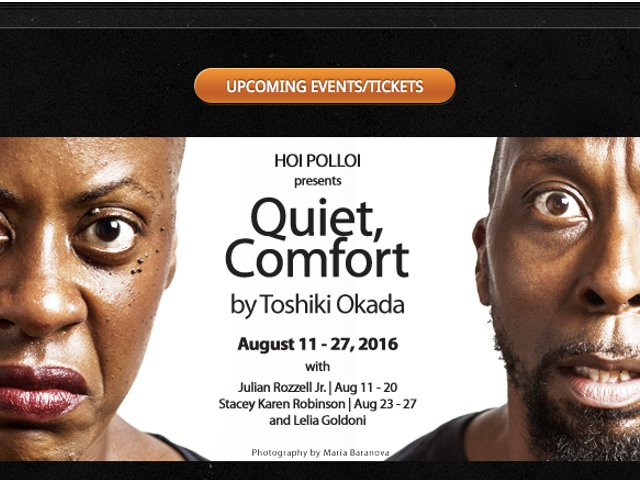 Esta semana en Nueva York Quiet Comfort en el teatro Jack