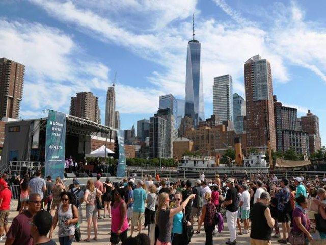 Esta semana en Nueva York un festival de música blues y barbacoa