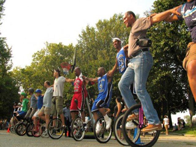 Esta semana en Nueva York un festival de uniciclos