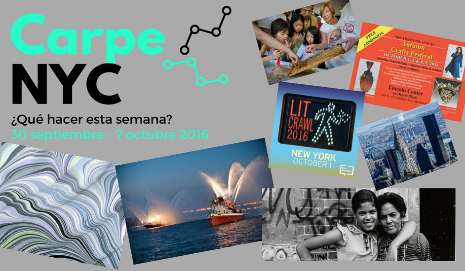carpe nyc 30 sept - 7 oct 2016