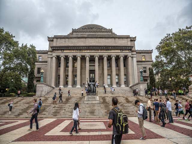 Columbia University en el Upper West Side
