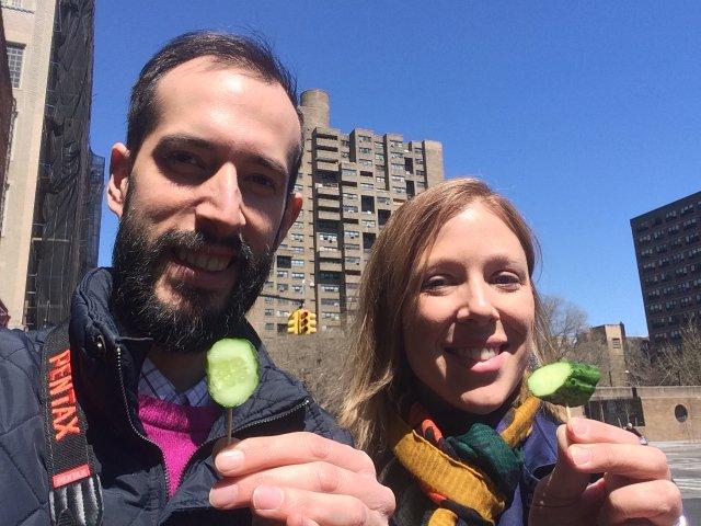 Esta semana en Nueva York el Dia del Pepinillo