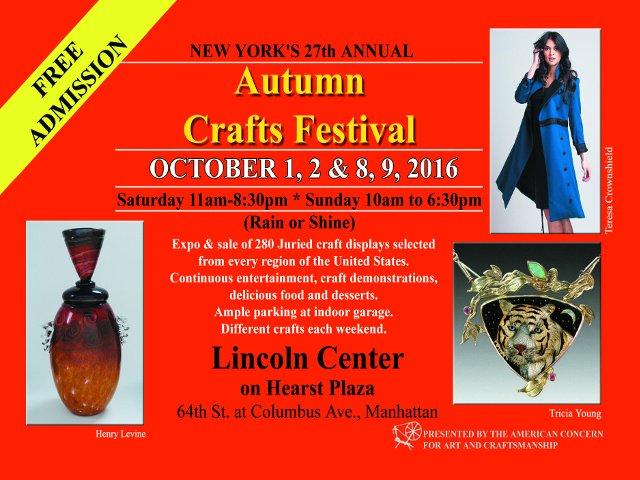 Esta semana en Nueva York una feria de artesanía