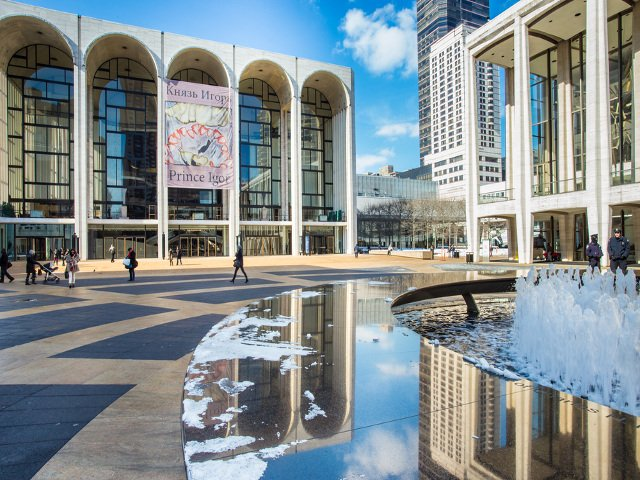 Lincoln Center en el Upper West Side