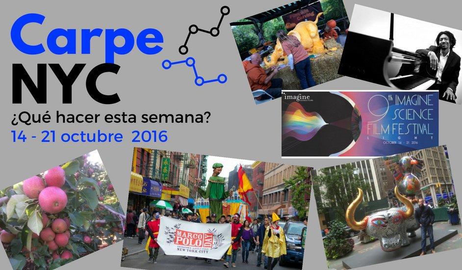 Carpe NYC 14-21 octubre 2016
