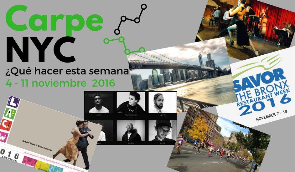 Carpe NYC 4-11 noviembre 2016