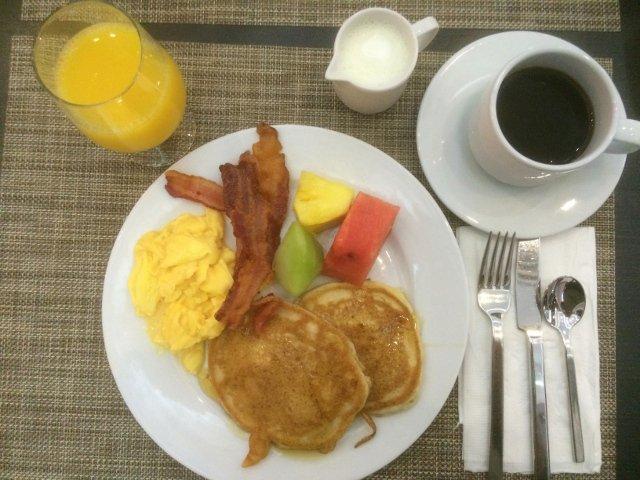 Desayuno en el Riu Plaza New York