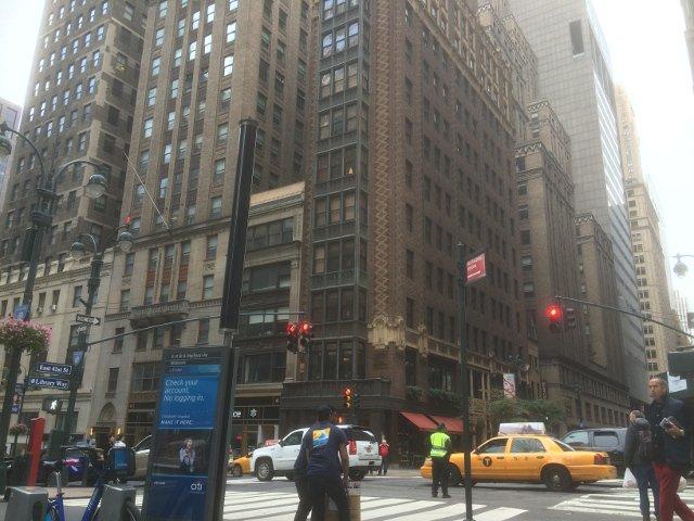 El Library Hotel Nueva York visto desde la calle