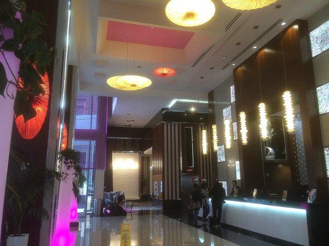 Entrada del Hotel Riu Plaza Times Square