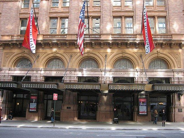 Esta semana en Nueva York un concierto alemán en Carnegie Hall