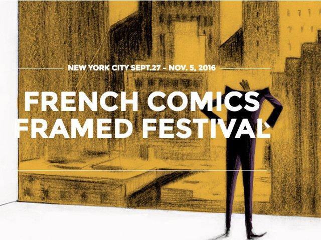 Esta semana en Nueva York un festival de comics en francés