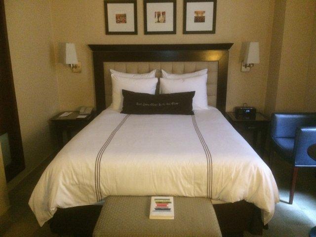 Nuestra habitación en el Library Hotel Nueva York