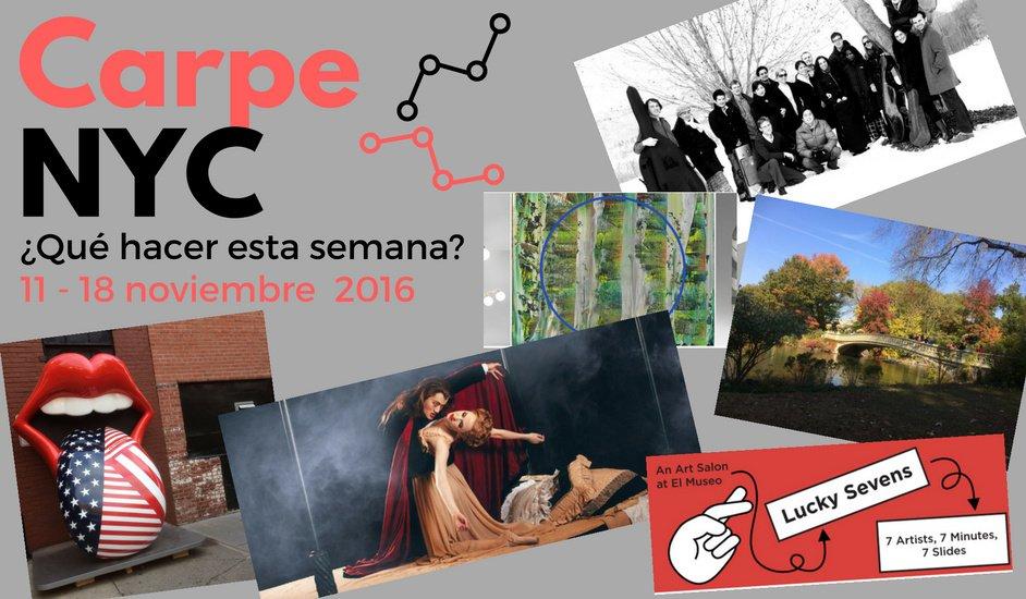 Carpe NYC 11-18 noviembre 2016