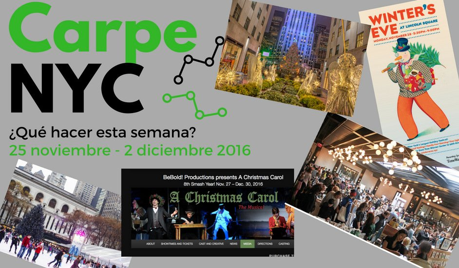Carpe NYC 25 noviembre - 2 diciembre 2016