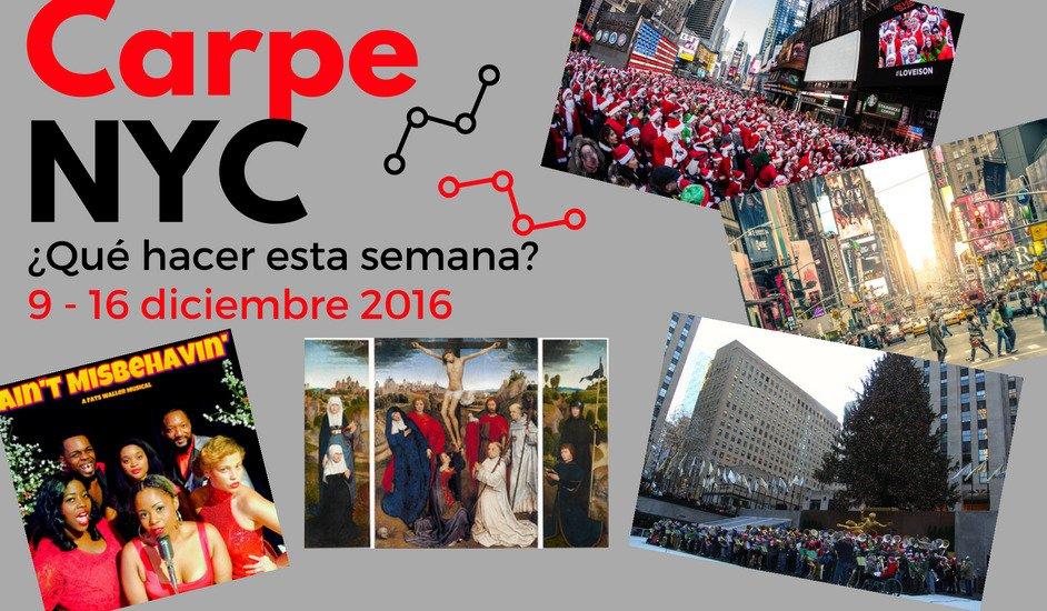 Carpe NYC 9-16 diciembre 2016