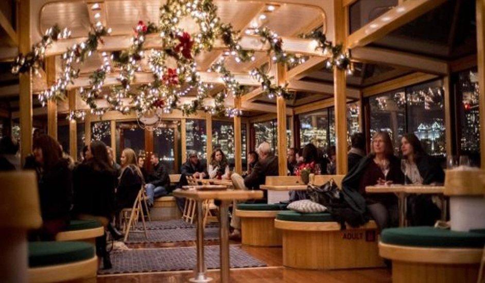 5 cruceros navideños en Nueva York con un toque de magia