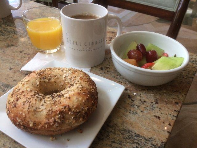 Desayuno en el Hotel Giraffe Nueva York