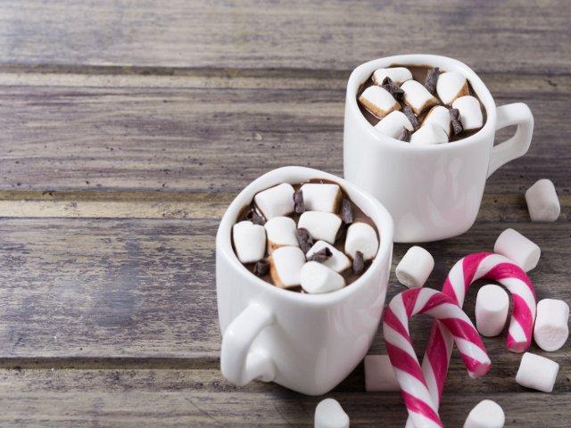 El chocolate caliente es típico en navidad en Nueva York